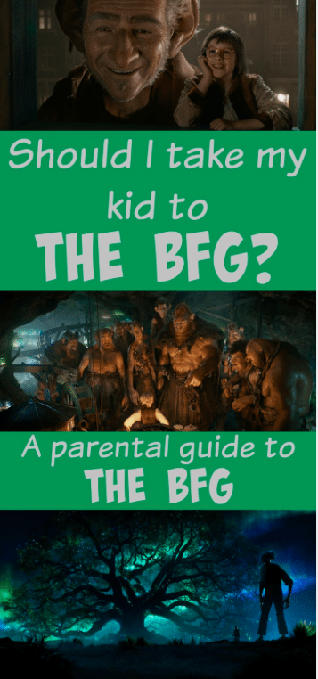 A parental guide to the BFG