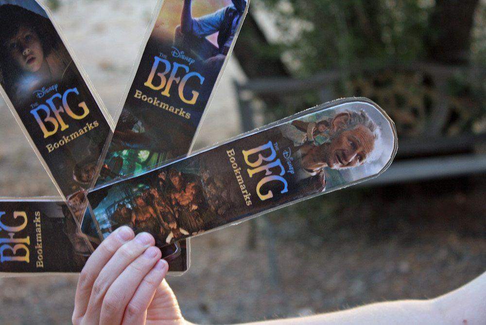 Printable BFG Bookmarks