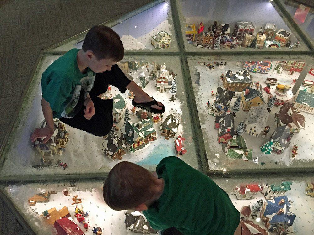 Christmas Display at Mini time machine museum
