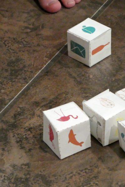 Boredom Buster Kit: Creative Storytelling Cubes