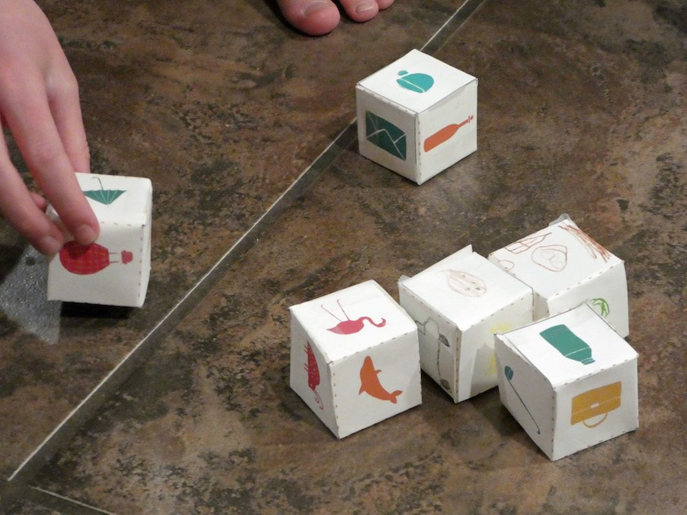 Creative Story Telling Cubes