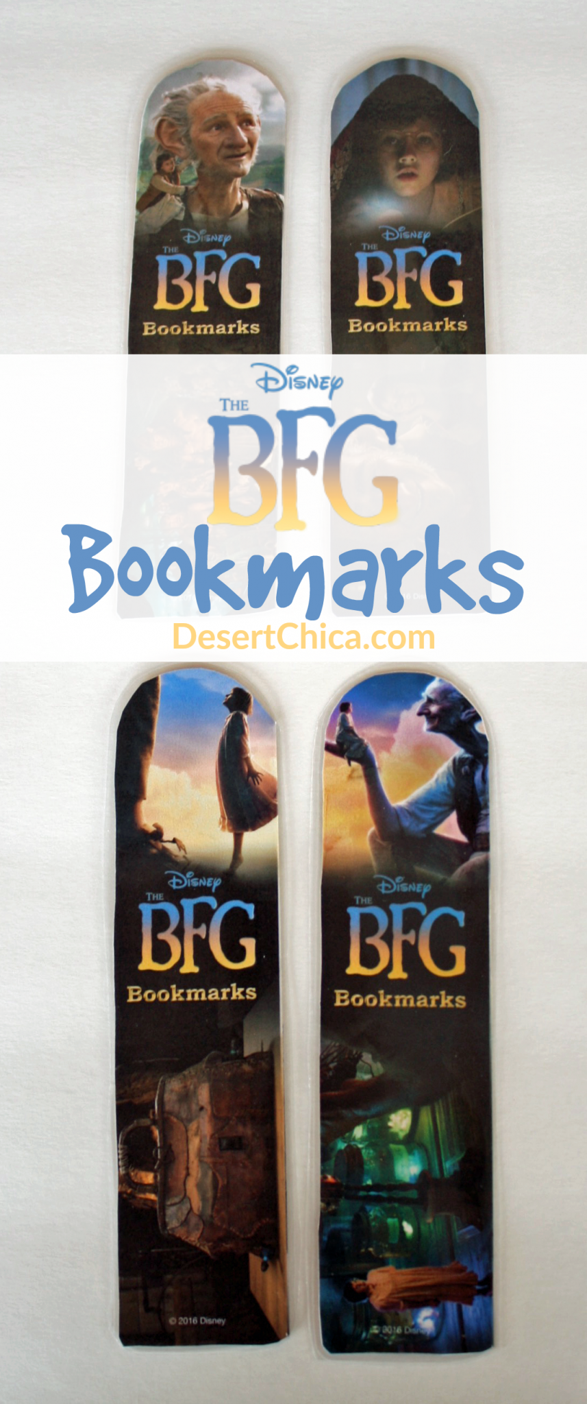 DIY BFG Bookmark