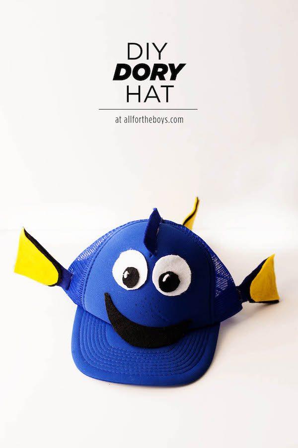 DIY Dory Hat