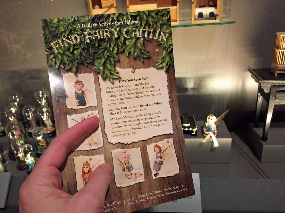 Find Fairy Caitlyn Scavenger Hunt at Mini Time Machine Museum
