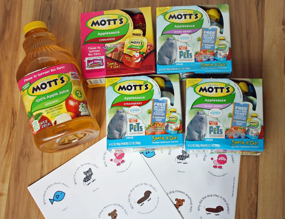 How to customize apple sauce pouches for pet party