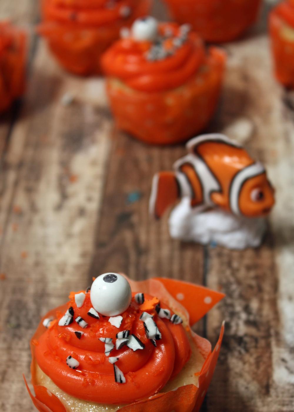 Nemo Cupcakes Finding Dory