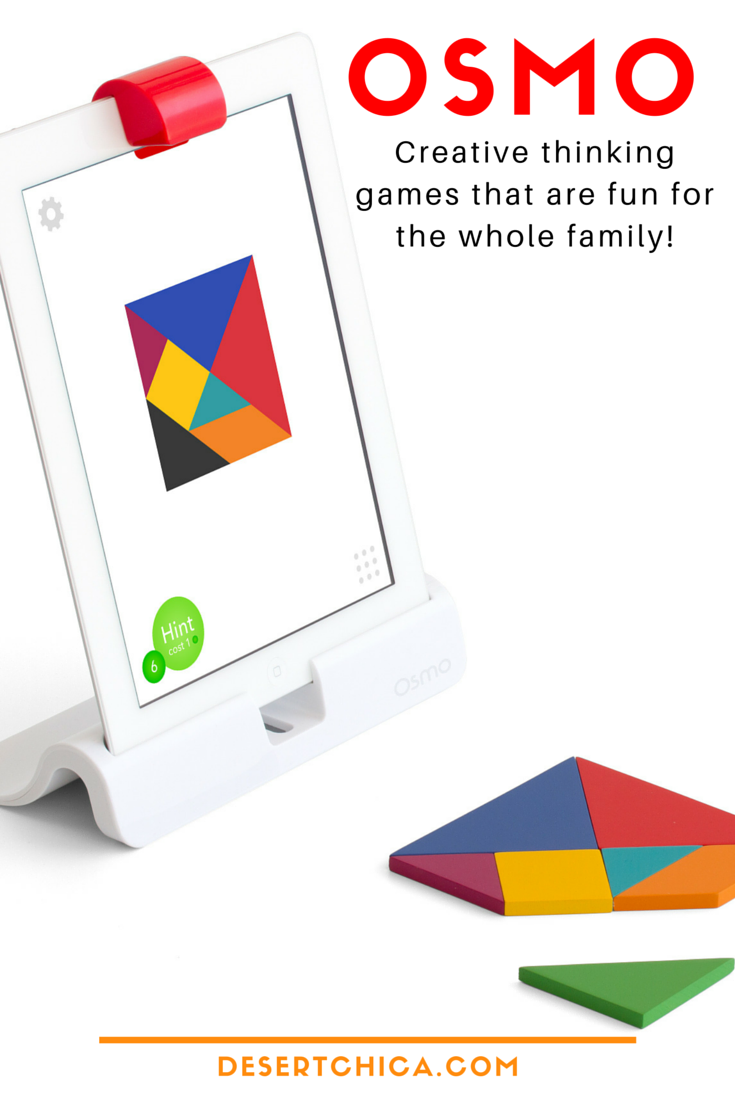 Osmo Learning Made Fun with Creative Thinking Games for the iPad