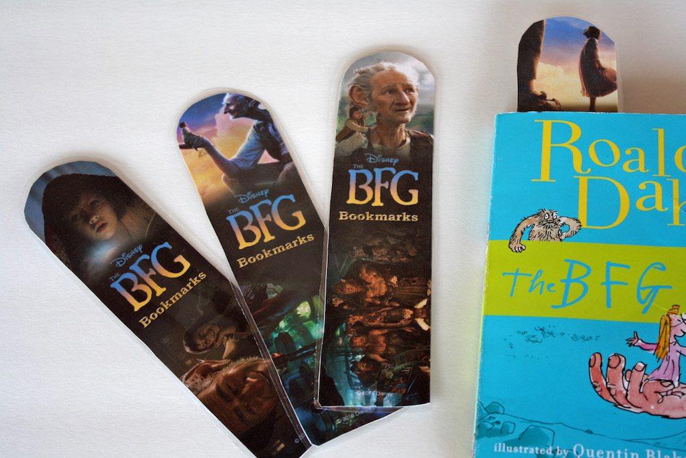 Print your own BFG Bookmark
