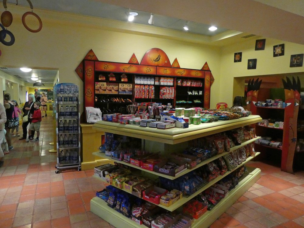 Snacks inside Picabu at the Walt Disney World Resort