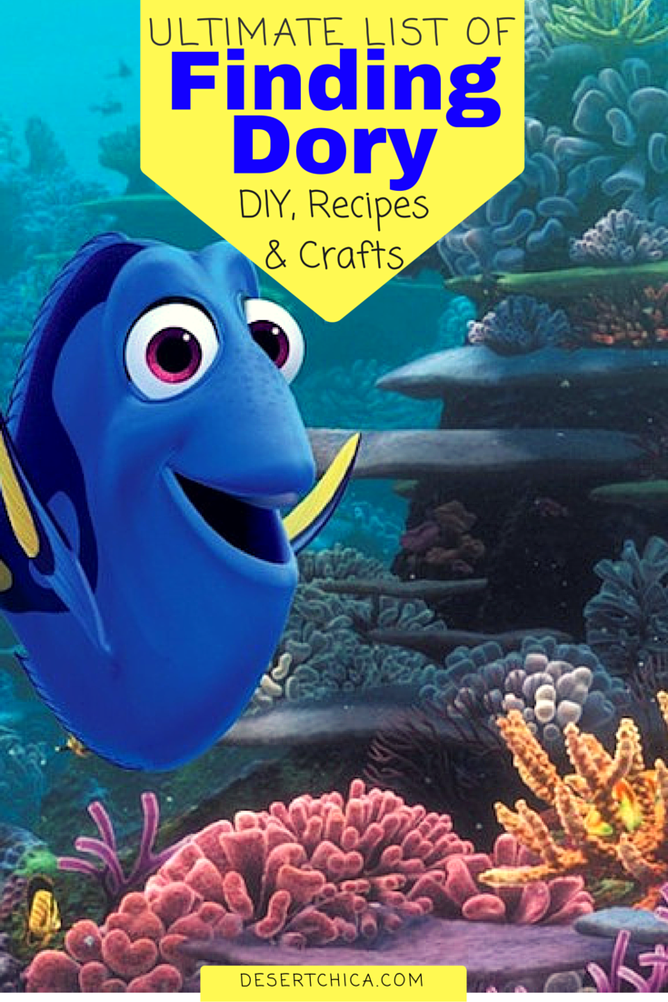 Ultimate list of Finding Dory Activities