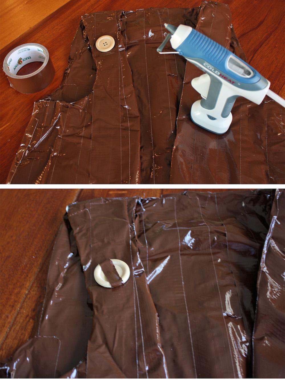 BFG Costume Vest Details