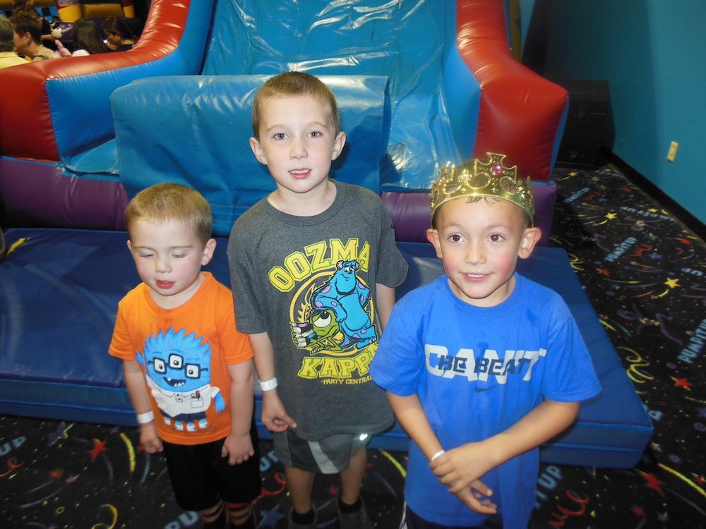 Cousins at Pump It Up