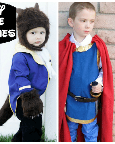 DIY Disney Prince Costumes