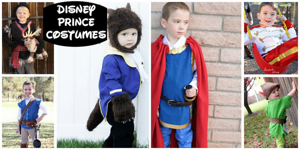 DIY Disney Prince Costumes