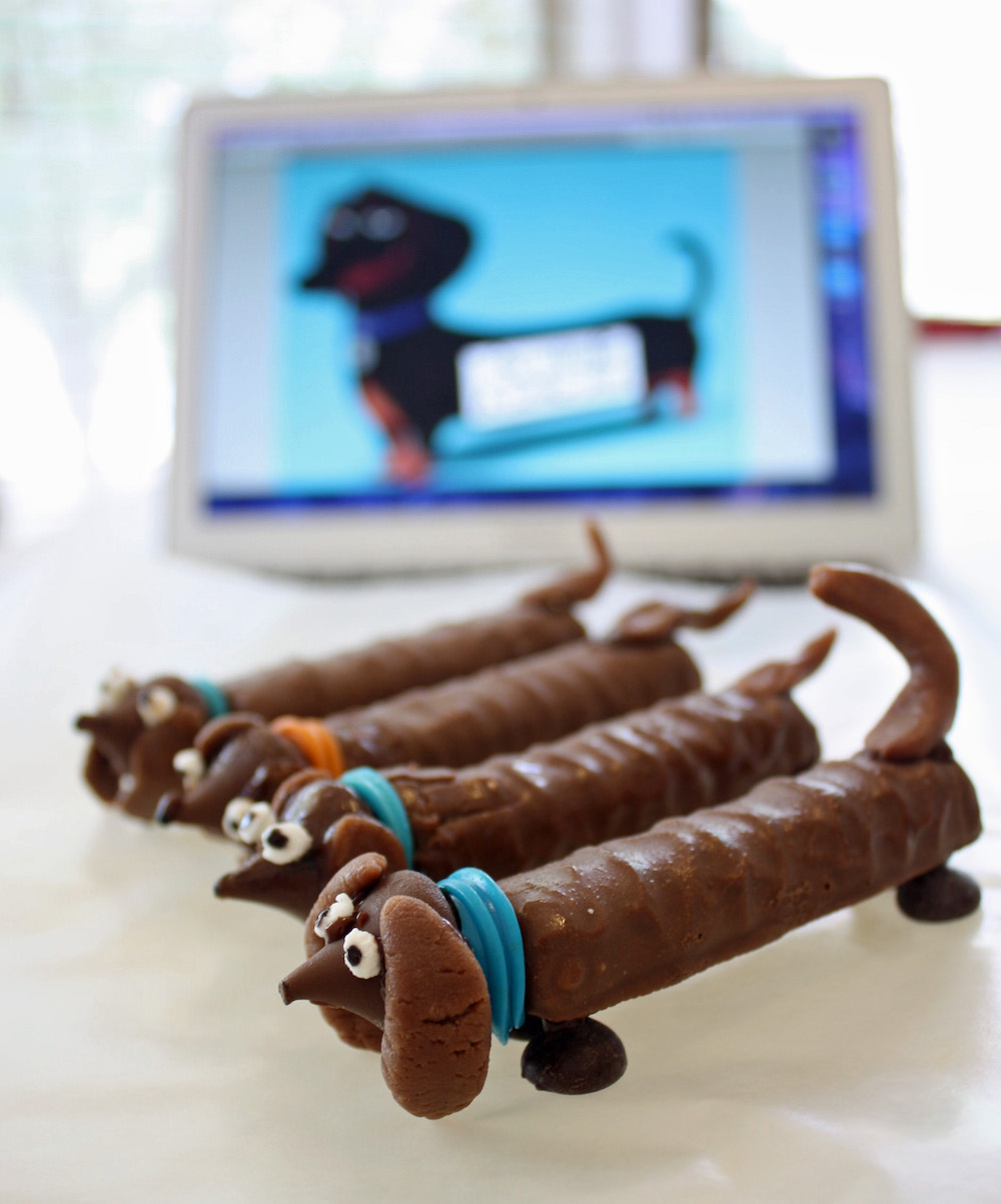 Dog Candy Craft Inspired by the Secret Life of Pets Buddy