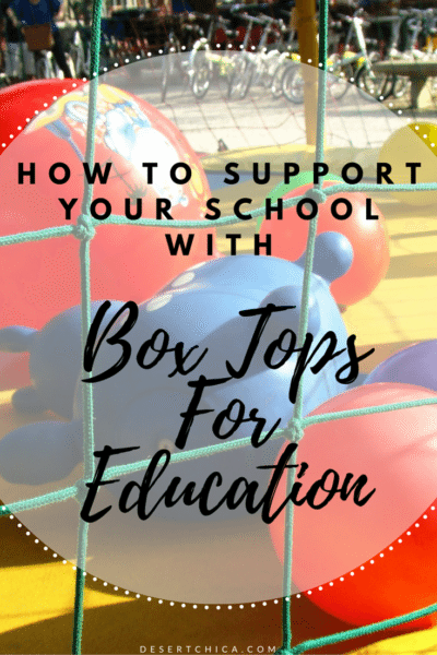 How to Support Your School With Boxtops For Education with household products