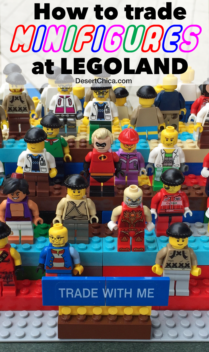 Headed to LEGOLAND soon? Check out these tips on how to trade LEGO minifigures at LEGOLAND!
