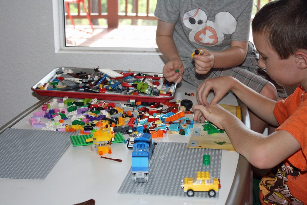 Explore STEM this summer with LEGO bricks