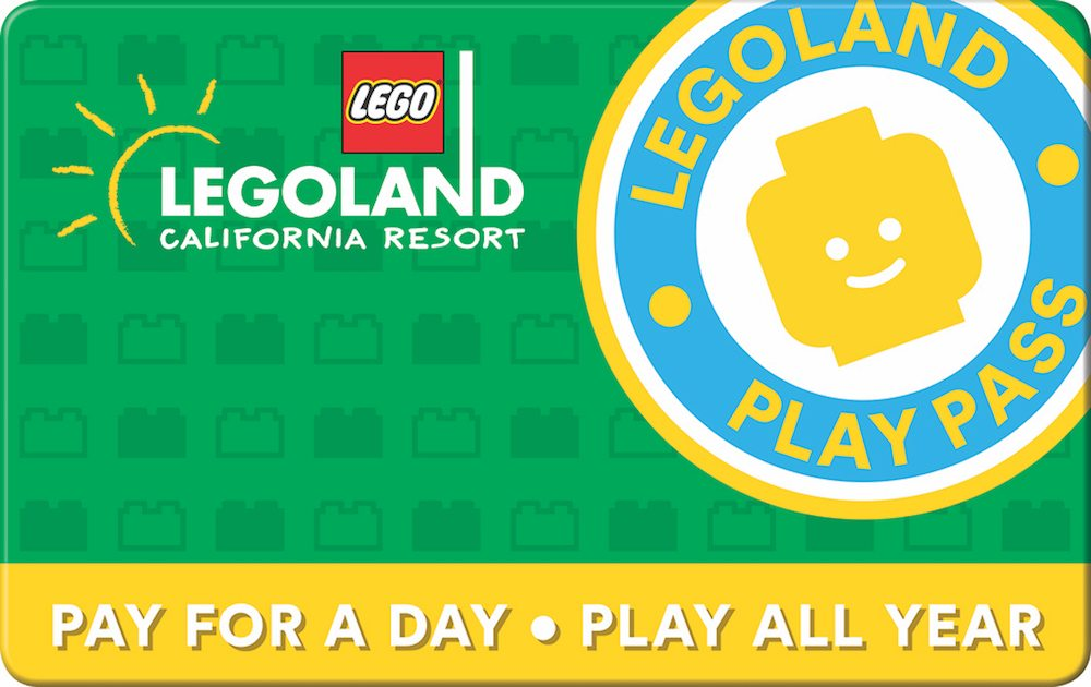 LEGOLAND California Pay for a Day Play All year