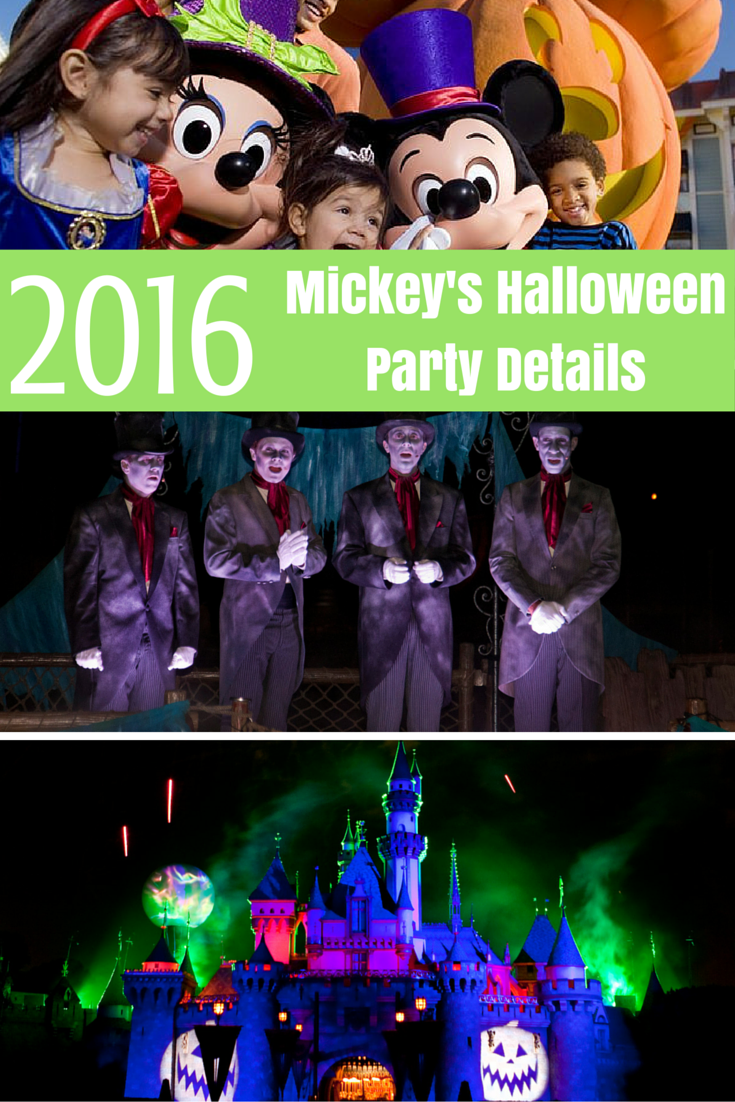 Mickey's Halloween Party 2016 Tickets