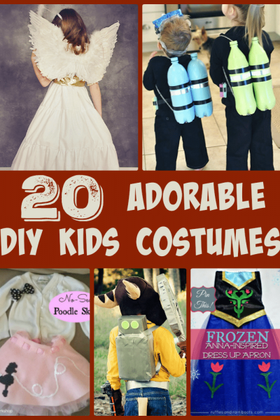 Adorable DIY Kids Costume Ideas