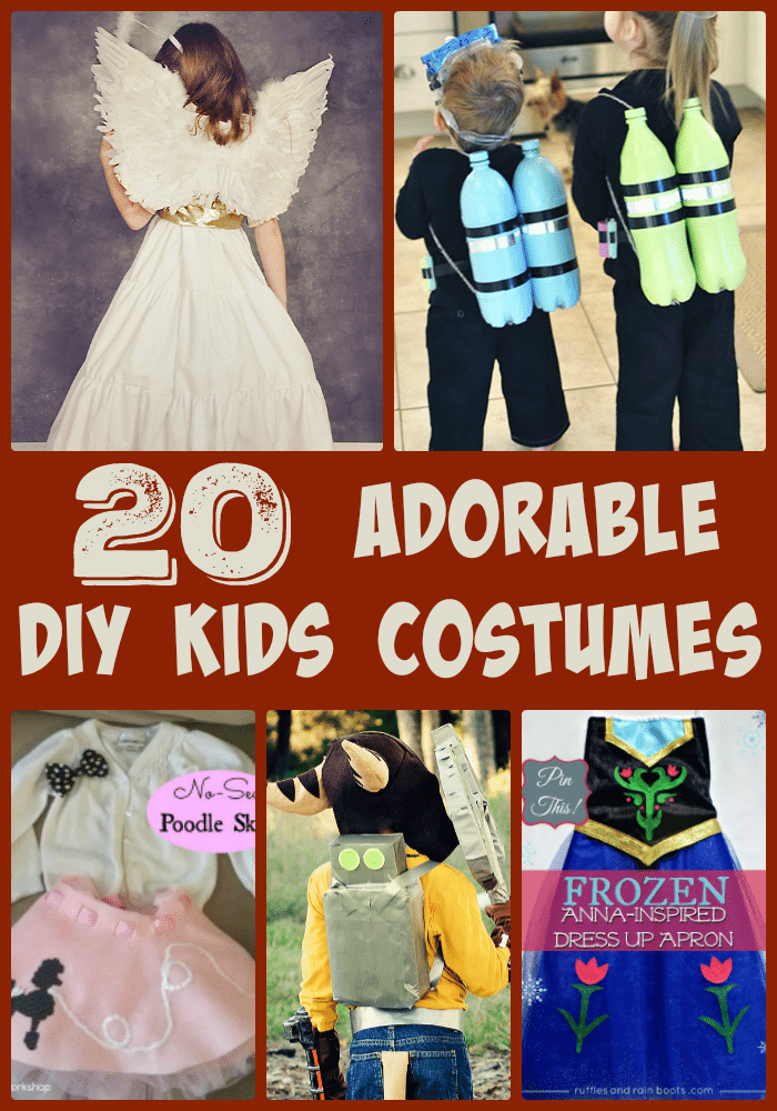 20 Adorable DIY kids Halloween Costumes For Kids - Blank