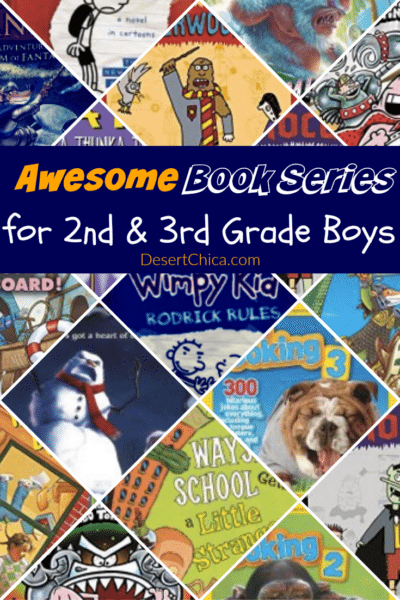 Awesome Book Series for 7 – 9 Year Old Boys