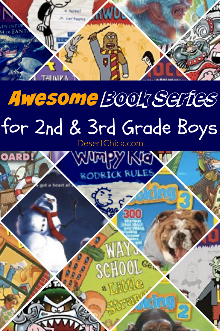 Awesome Books Series for 2nd and 3rd grade boys
