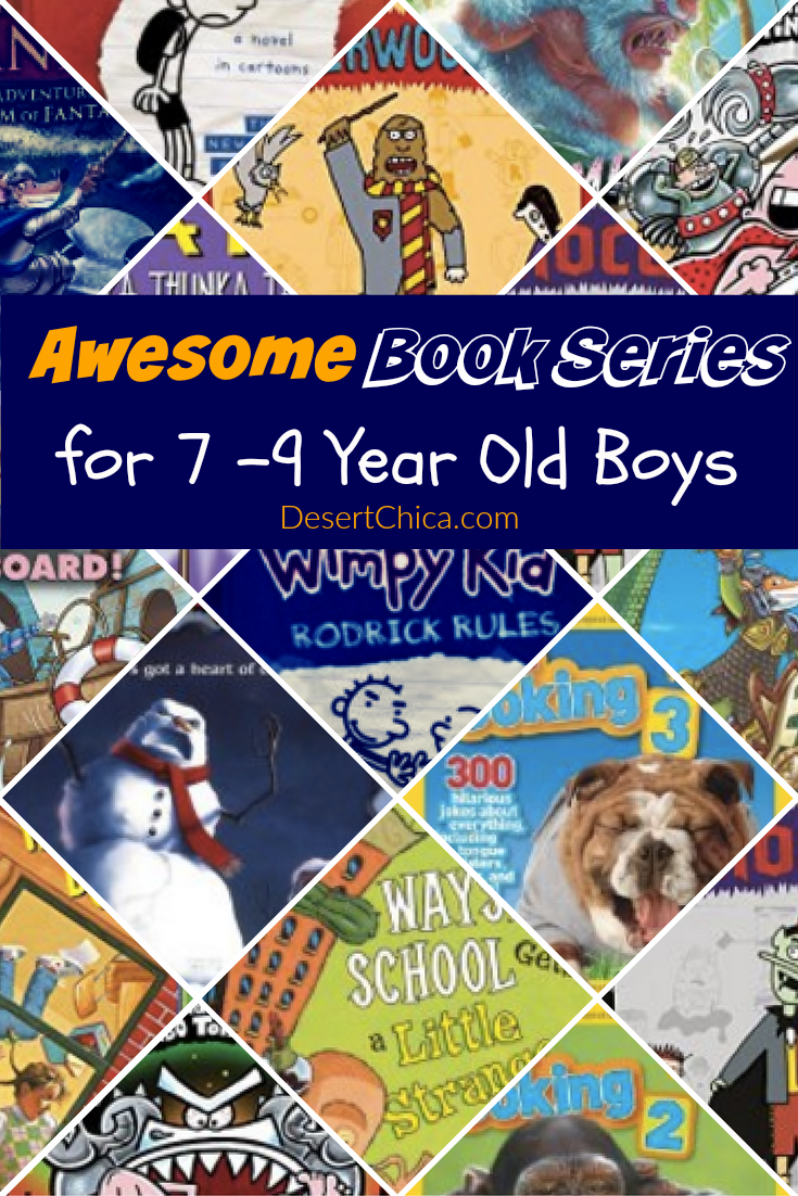 Awesome Books Series for 7 - 9 Year Old Boys