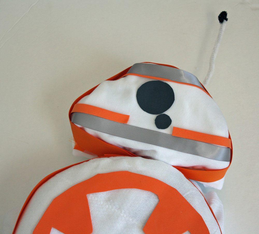 BB-8 Diaper Cake details