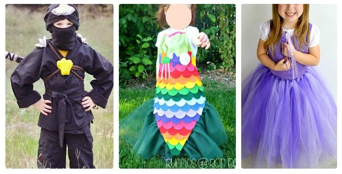 Cute DIY Halloween Costumes for Kids