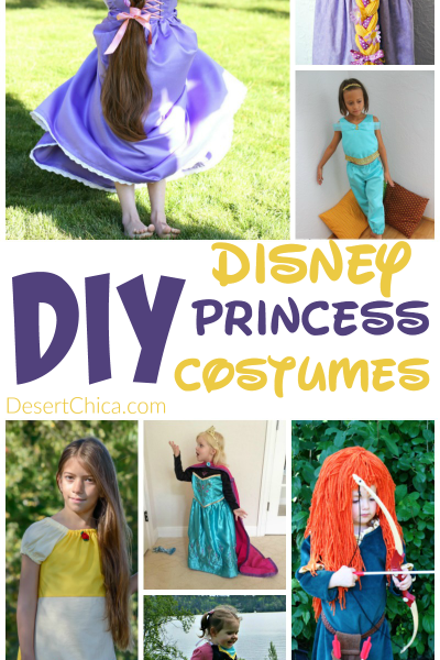 DIY Disney Princess Costumes