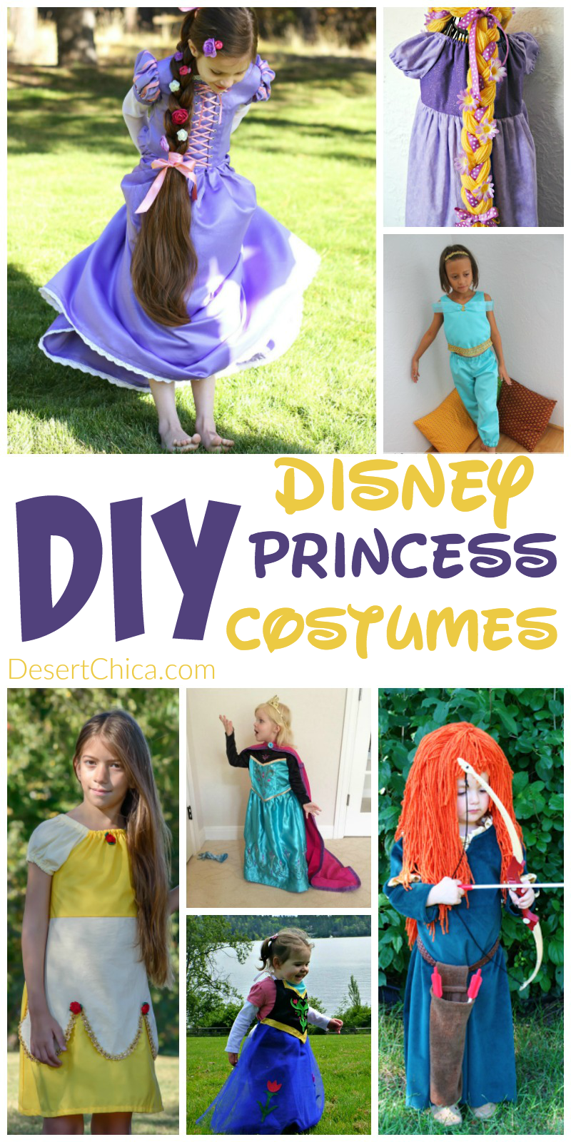 Diy disney princess costumes desert chica diy disney princess costumes solutioingenieria Images