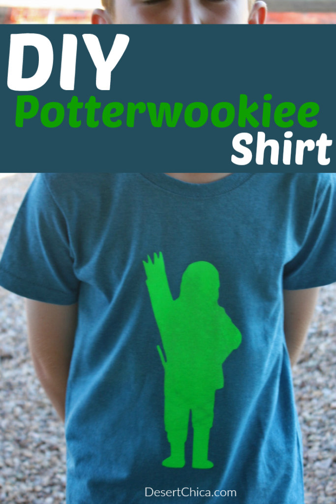DIY Potterwookiee Shirt
