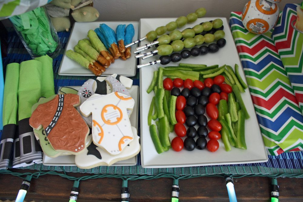 Easy Star Wars Baby Shower Food Ideas