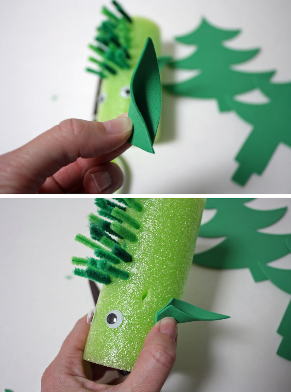How to make Pete's Dragon Craft ears