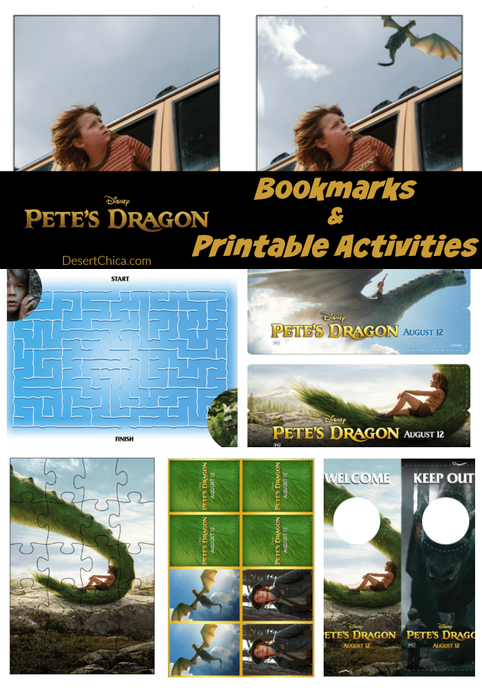 Pete's Dragon Printable Activities