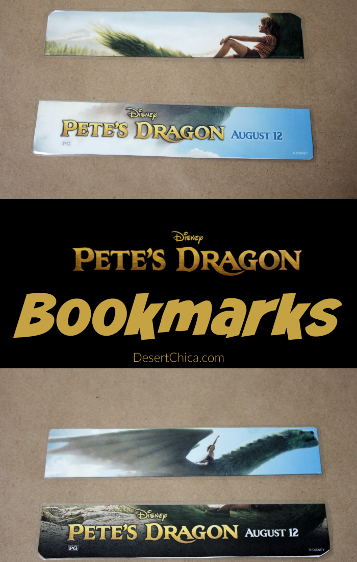 Printable Pete's Dragon Bookmarks