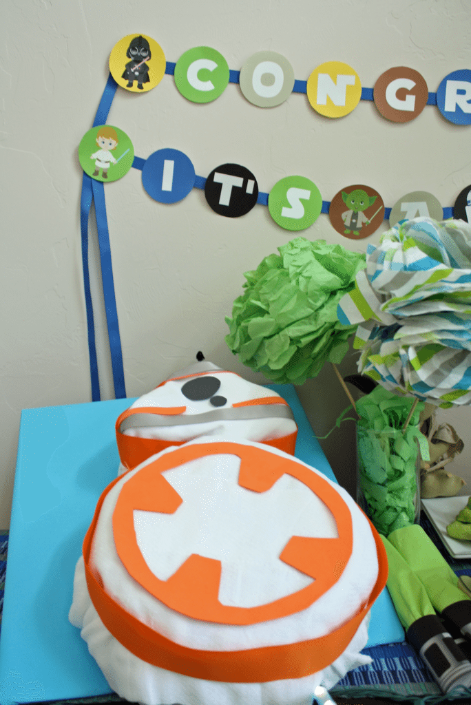 Star Wars Baby Shower Details