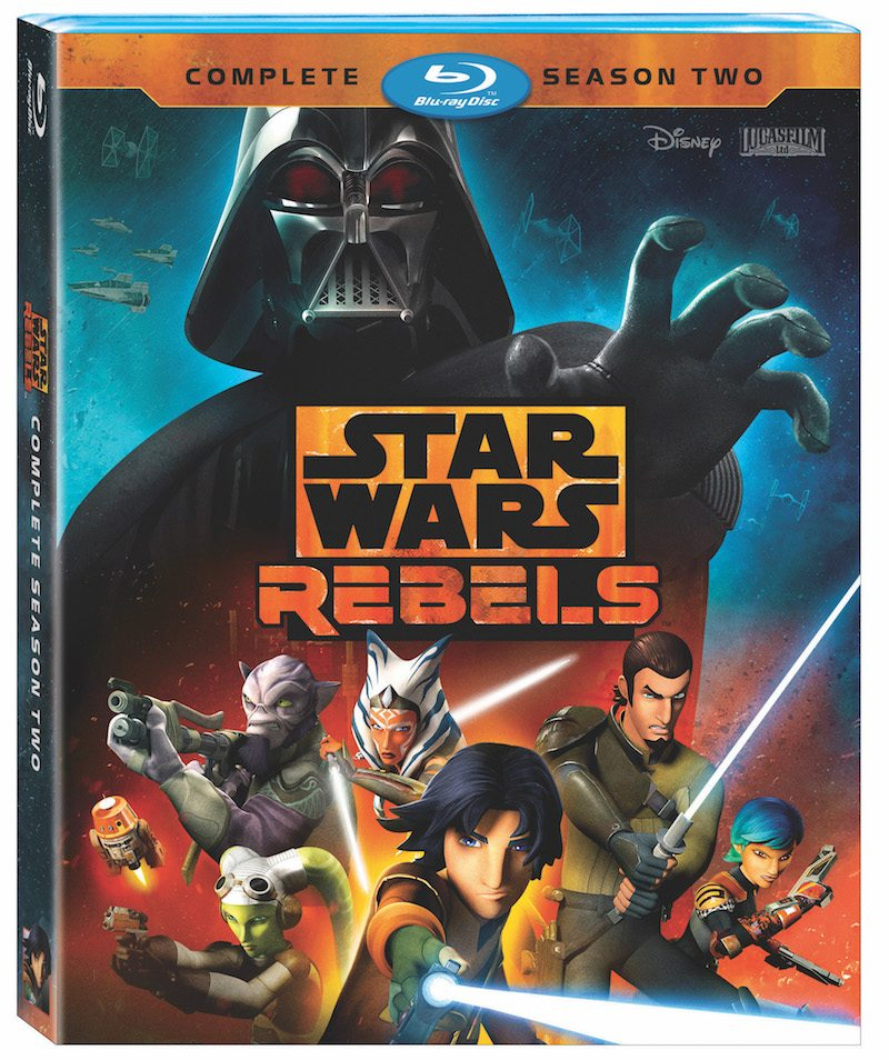 Star Wars Rebels Season Two Bluray