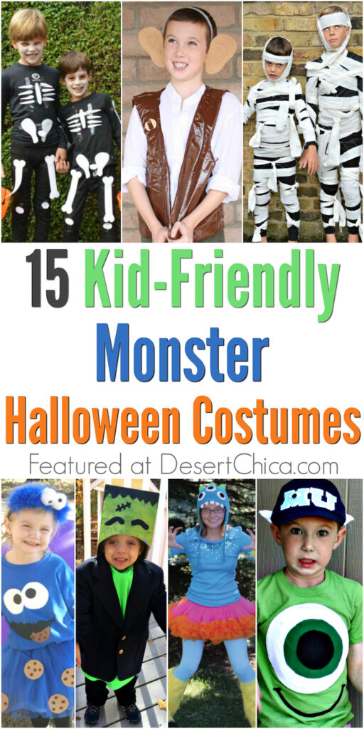 15 kid-friendly monster halloween costume ideas