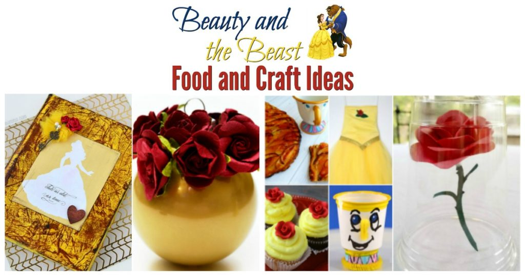 beauty-and-the-beast-food-and-craft-ideas-party