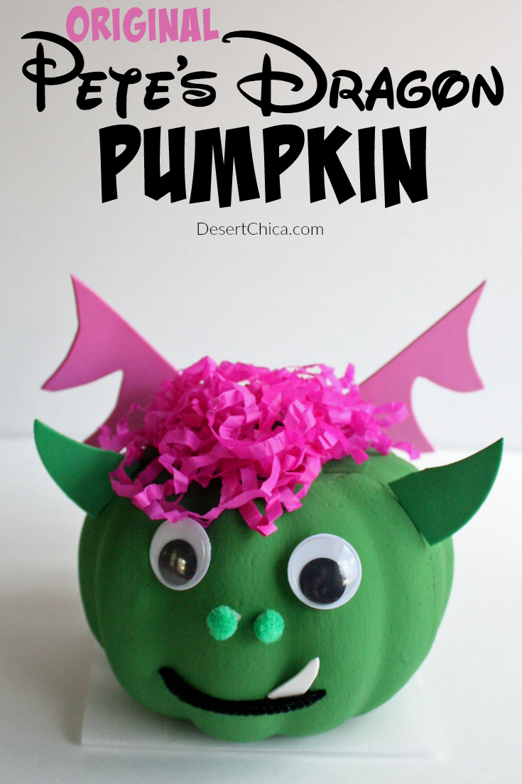 DIY Original Pete's Dragon Pumpkin