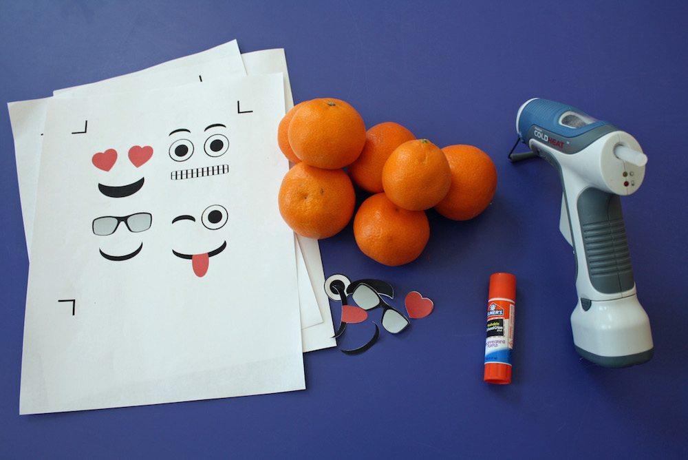 Emoji Orange Supplies