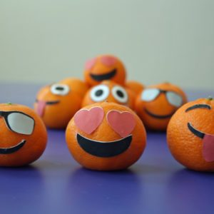 DIY Emoji Oranges