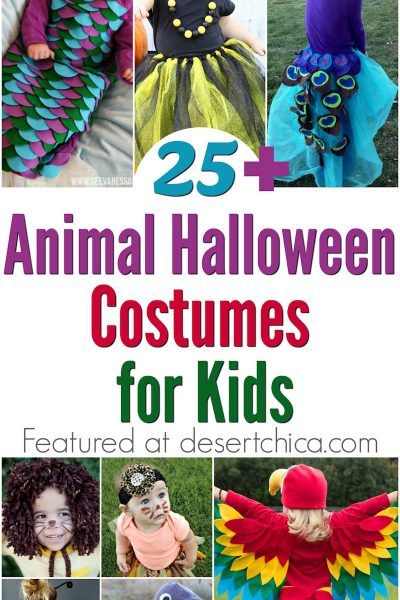 25+ Awesome DIY Animal Costumes For Kids