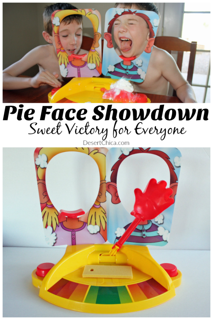 Pie Face Showdown - Fun and sweet victory for everyone