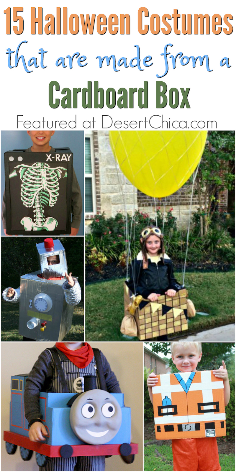 Need a little inspiration for Halloween? Check out these awesome costumes that all started with a cardboard box!