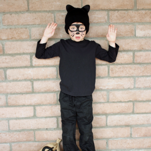 Easy Cat Burglar Costume