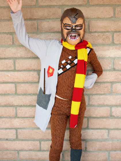 Book Character Costumes for kids and tweens include Potterwookie